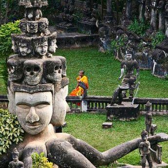 Buddha Park, Vientiane,Laos
