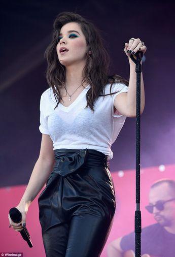 Hailee Steinfeld is rocker chic at iHeartRadio Music Festival