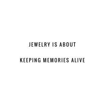 Custom jewelry is the favorite part of my job💕 #plunderdesign #customjewelry #wearyourstory #momabsmoxie