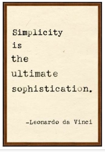 This is the quote I follow in life. Simplicity... #quote