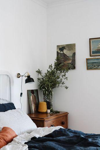 Australian interior photographer Marnie Hawson for My Sister & the Sea, Marion Bay, Yorke Peninsula. #Schlafzimmer