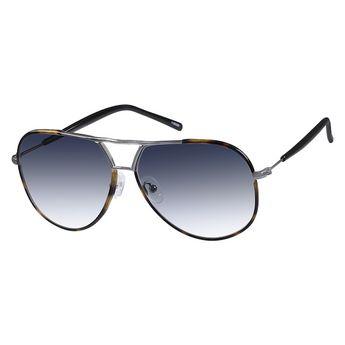 e01c27d123 Zenni Mens Aviator Rx Sunglasses Tortoiseshell Mixed Materials 1130325