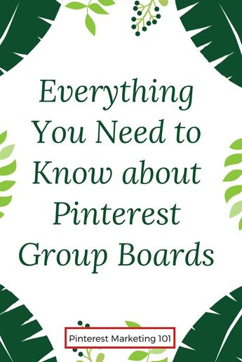 📍Welcome back to Pinterest Marketing 101! Today, let's discuss your group boards. This sums up everything you need to know about Pinterest group boards. If you want to know how to master your entire Pinterest account and generate 45,000 monthly pageviews to your website, start by setting up your group boards for success on Pinterest. Learn the best pinterest marketing tips to generate real traffic. Group boards are a great way to expand your horizons! #groupboard #pinterest #pinter