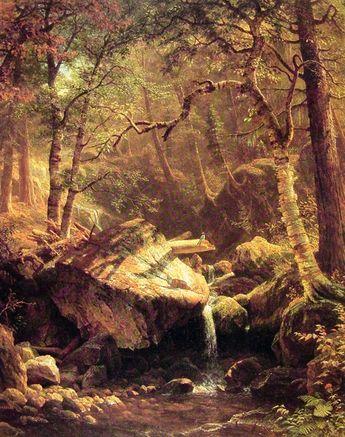 The Mountain Brook, 1863