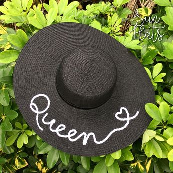 Personalized Summer Hat Floppy Hat Sequin Hat Panama 0fff5e50679