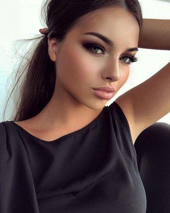 Les plus tendances maquillage parfaites pour les brunes - #brunes #les #Maquillage #parfaites #pour #tendances