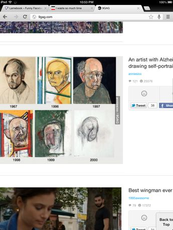 Artist schizophrenia self portrait progression