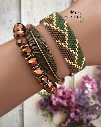 Yeni kombin🍂🍃🌾✨✨✨✨ ✿ ✿ ✿ ✿ ✿ ✿ ✿ ✿ ✿ ✿ ✿ ✿✿ ✿ ✿ ✿ ✿ ✿ ✿ ✿ ✿ ✿ ✿ ✿ ✿ ✿ ✿ ✿ ✿ ✿ ✿ ✿ ✿ ✿ ✿ ✿ ✿ ✿ ✿ ✿ ✿• Bilgi için ➡️Dm ulaşabilirsiniz 🌾🍃 • • • • •  #miyuki #trend #style #bileklik #bracelet #happy #design #love #jewelry #fashion #takı #instagood #instalike #accessories #aksesuar #taki #beautiful #colors #instadaily #colorful #happy #handmade #elemeği #tasarim #aksesuar #photooftheday #like4like#dıy#leaf #green #kahverengi #bronz