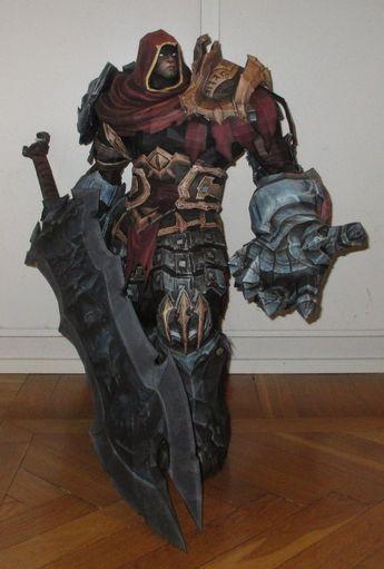 War from Darksiders papercraft by minidelirium.deviantart.com on @deviantART