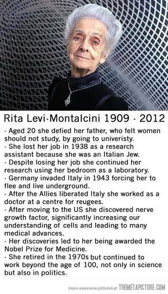 Rita Levi-Montalcini obituary