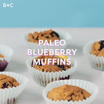 This Paleo, Gluten-Free Blueberry Muffins Recipe Tastes Anything But