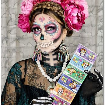 Día de los Muertos is fast approaching and @CALottery's Dia de los Muertos scratchers always inspire me with awesome costume ideas! Hence, I'm so excited to partner with the @CALottery and announce their awesome contest! Show us how you celebrate DDLM using #DDLMxCALottery and #LilyXCALottery for a chance to win big 💀🌸🖤 #ad