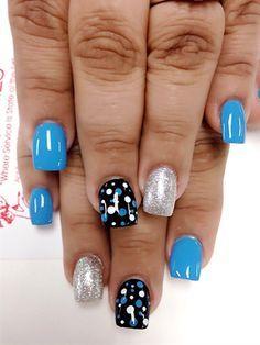 Nails by Danasky - Nail Art Gallery nailartgallery.nailsmag.com by Nails Magazine www.nailsmag.com #nailart