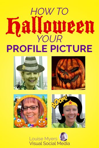 How to Halloween Your Profile Picture 6 Wicked Ways