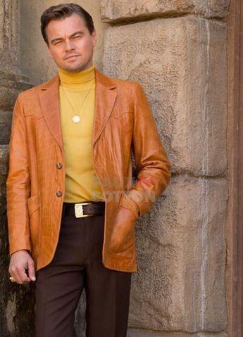 Buy Leonardo DiCaprio Once Upon a Time In Hollywood Jacket   Rick Dalton Jacket
