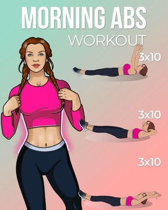 Effective Morning Abs Workout