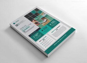 Company Flyer Templates 002553 - Template Catalog