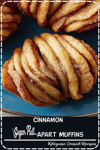 Layers of buttery cinnamon sugar goodness packed into a muffin.