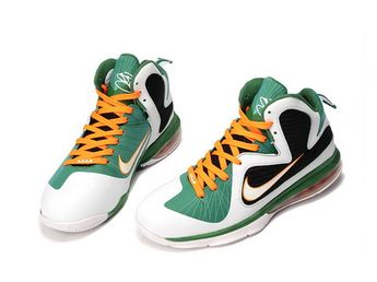 wholesale dealer 710d7 40128 Nike LeBron 9 University of Miami Hurricanes,Style code 469764-102,Colorway