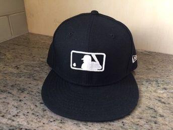 c53cdcc0abb 59FIFTY NEW ERA Baseball Hat Cap SNAPBACK ADJUSTABLE BLACK UMPIRE HAT   fashion  clothing