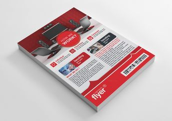 Professional Corporate Business Flyer Design - Graphic Templates