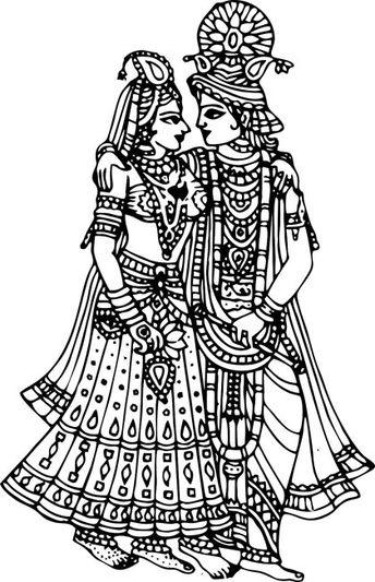 kannan radha wedding clipart