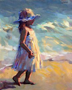 Sun-kissed by Trisha Adams Oil ~ 30 x 24