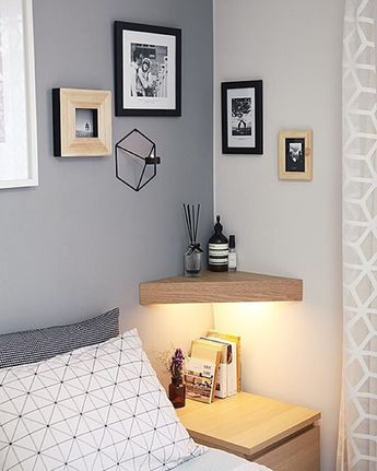 Small Bedroom Ideas - Here are ten small bedroom ideas and tips to help you produce a bedroom room that might be small in square video, yet allows in vogue. Maintain Color Styles Light and Bright. Press Your Bed Up Versus an Edge. Avoid the Bulky Bed Framework. Accept Minimalism. Amplify with Mirrors. Add Storage Under the Bed. Live Up and down. Add ... #smallbedroom #bedroomideas #smallbedroomfurniturelayout