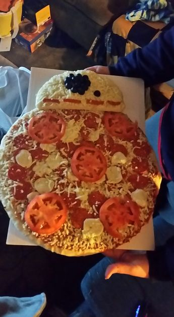 BB-8 Pizza Star Wars More