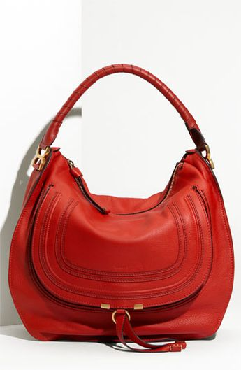 7fad45d93fa5 Chloé  Marcie - Large  Leather Hobo available at  Nordstrom