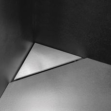HighLine Panel without frame | corner | stainless steel, brushed