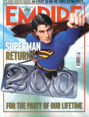 EMPIRE magazine February 2006 SUPERMAN RETURNS ref10096,EMPIRE magazine February 2006 SUPERMAN RETURNS ref10096 Pre-owned in very good clean condition. Please see larger photo and full description for details., #EmpireMagazines