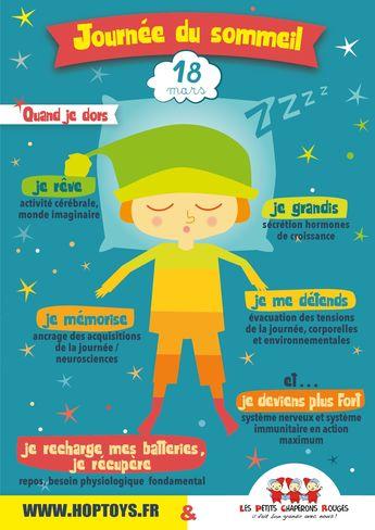 Infographie : les bénéfices du sommeil