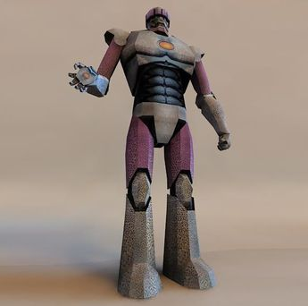 PAPERMAU: Iron Man - Stark Sentinel Machine Paper Model - by R Gatt