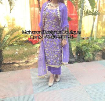 Punjabi Suits Online Shopping   Maharani Designer Boutique