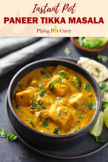 Paneer Tikka Masala Recipe in Instant Pot