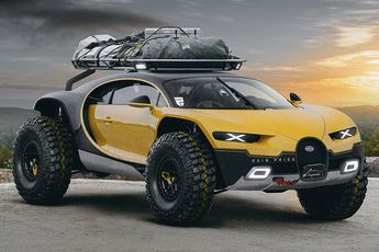 Bugatti Chiron Off-Road Edition Menaces the Back Country