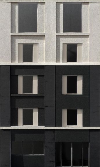 Facade Model Study - 3144 Architects