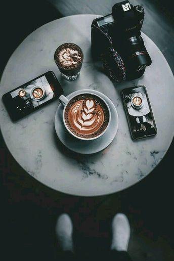 Latte art perfection.
