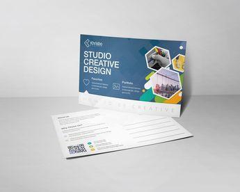 Modern Postcard Design - Graphic Templates