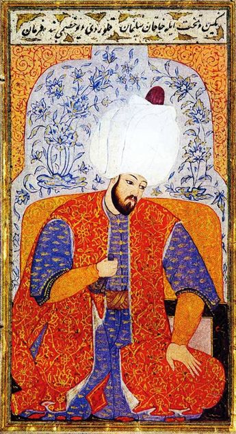 """Suleiman I (Turkish: Kanunî Sultan Süleyman; 6 November 1494 – 7 September 1566), commonly known as Suleiman the Magnificent in the West and """"Kanuni"""" (the Lawgiver) in the East, was the tenth and longest-reigning Sultan of the Ottoman Empire, from 1520 to his death in 1566."""