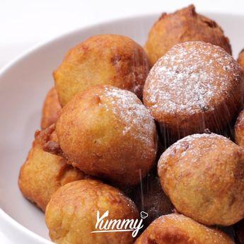 Cekodok Pisang   Yummy - Temukan resep-resep menarik lainnya hanya di:  Instagram: @Yummy.IDN  Facebook: Yummy Indonesia #pisang #cekodokpisang