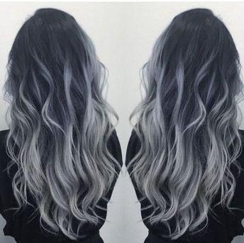 17+ Ideas hair grey balayage silver ombre #hair