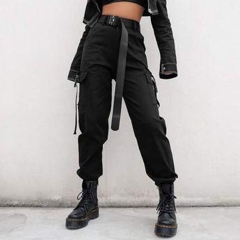 Street style cargo pants