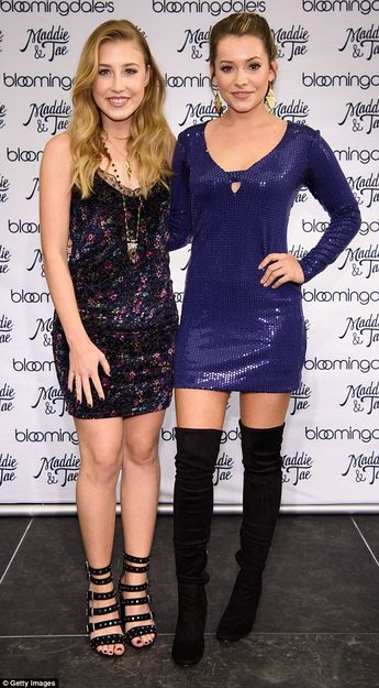 We spoke with Maddie & Tae about their new line with Bloomingdale's