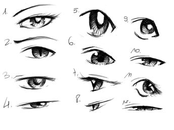 12 Useful Eyes Drawing References and Tutorials « Welcome to Freaksigner
