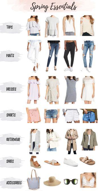 Spring Wardrobe Essentials for 2018