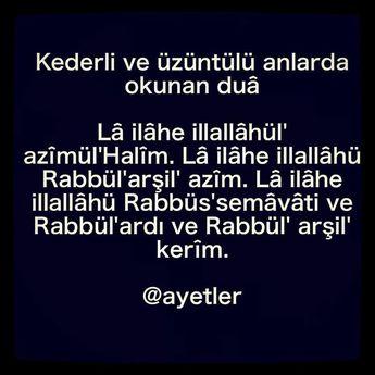 Allâh'tan başka hiçbir ilâh yoktur. Ancak azîm, halîm olan Allâh vard...