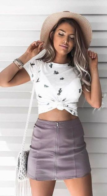 43 Pretty Summer Casual Outfits Ideas For Women