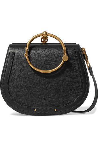 93ed3b8409 Chloé - Nile Bracelet medium leather and suede shoulder bag
